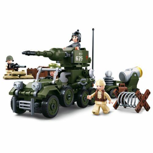 Sluban 0679 WWII Neu 4in1 ARMY Geschenkbox