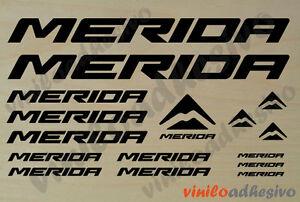 Pegatina Vinilo Sticker Merida Ref2 Bicicleta Bike Autocollant Aufkleber Adesivi Limpid In Sight Cycling Sporting Goods