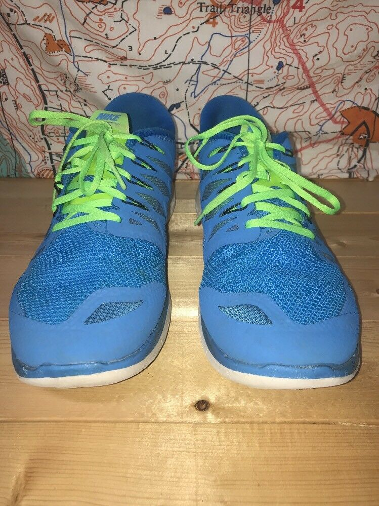 Nike 642198-405 Free 5.0 Running Training Racing Shoes Sneakers Comfortable Comfortable and good-looking