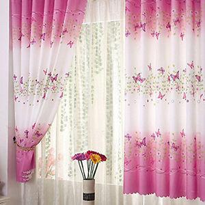 2Stk Schmetterling Baby Gardine Vorhänge Vorhang für Babyzimmer ...
