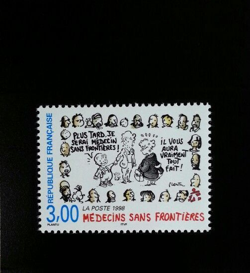 1998 France Doctors Without Borders Scott 2686 Mint F/V