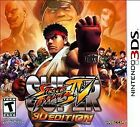 Super Street Fighter IV -- 3D Edition (Nintendo 3DS, 2011)