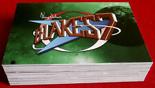 """BLAKE'S 7 - COMPLETE """"Green Series"""" BASE SET (54 CARDS) - Unstoppable Cards 2013"""