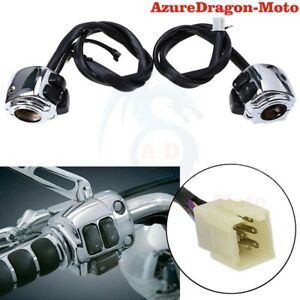 1-Pair-Motorcycle-Handlebar-Control-Switches-For-Harley-Sportster-883