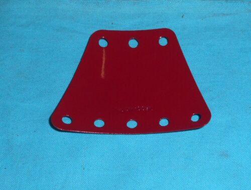 rouge meccano 1 plaque trapèze 3x5 trous NoB970