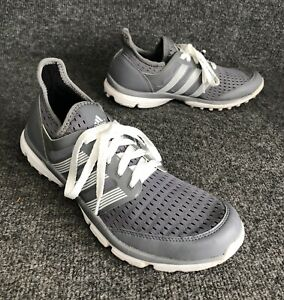Adidas Climacool Gray White Mesh Spikeless Golf Shoe Mens Size 8 ...