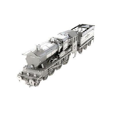 Harry Potter Hogward Express Metal Earth Lokomotive Waggon Modellbausatz silber