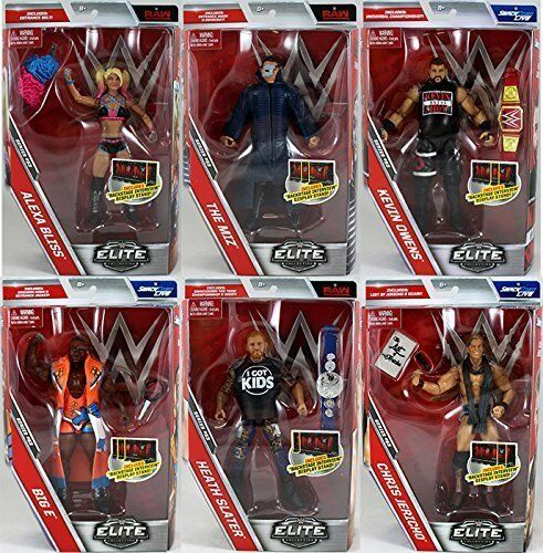 WWE Figures - Elite Series 53 - Mattel - Brand New - Sealed