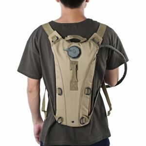 7dc813c191 Image is loading 3L-Hydration-Pack-Molle-Military-Tactical-Hiking-Hydration-