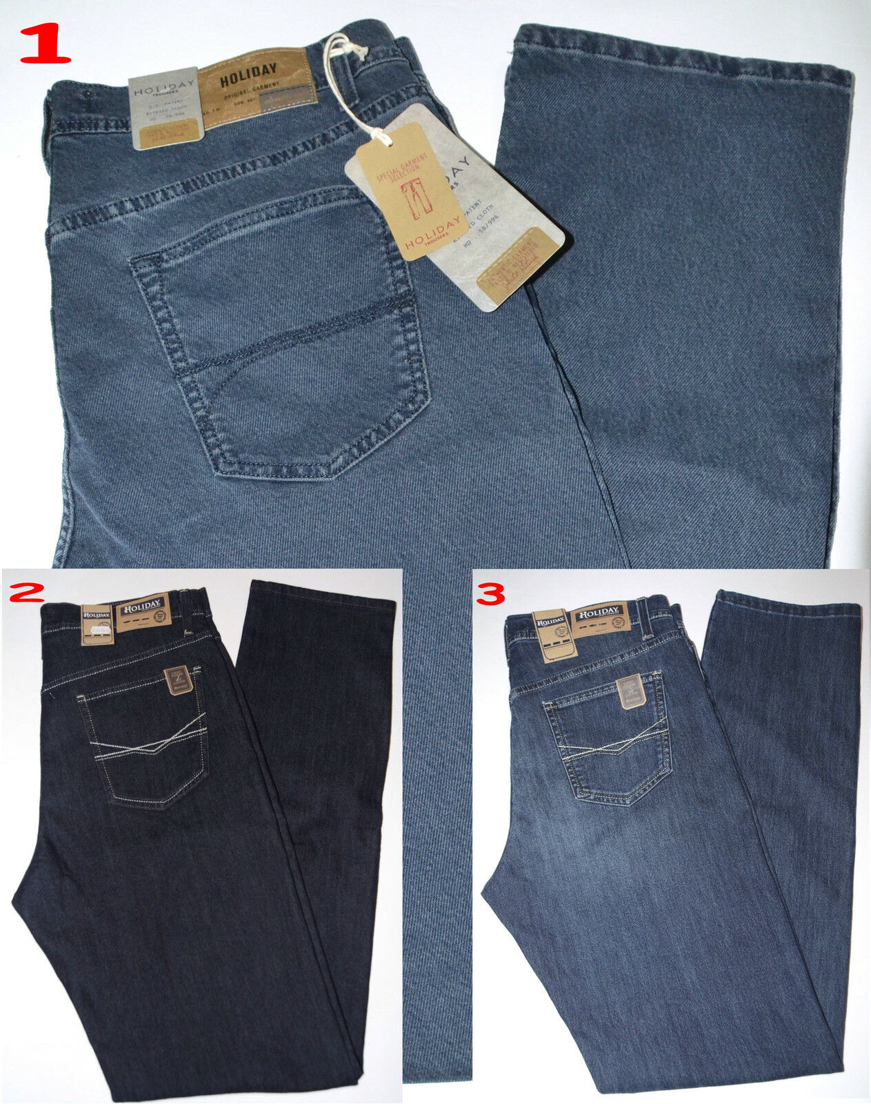 Men's Jeans HOLIDAY   news   canvas denim stretch soft sizes da 46 a 60