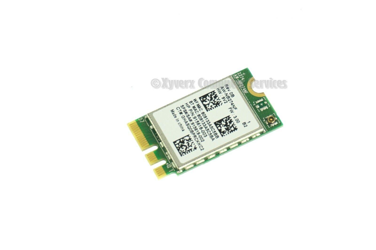 915619-002 RTL8723DE GENUINE HP WIRELESS CARD 15-DY 15-DY0013DX (CA714)