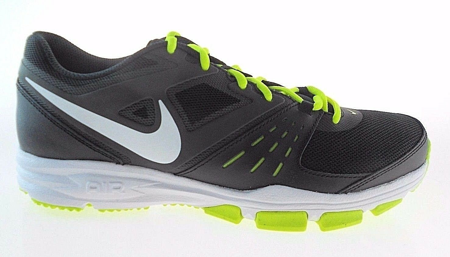 NIKE AIR ONE TR MEN'S BLACK/VOLT TRAINING SHOES,  Special limited time