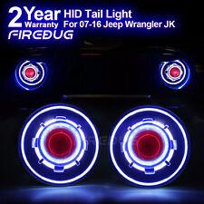 "7"" Round Headlights, HID Projector Headlights with Halo, Angel Eye Headlight"