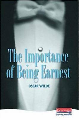 1 of 1 - The Importance of Being Earnest (Heinemann Plays), Wilde, Oscar, Used; Acceptabl