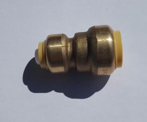 """5 PIECES 3//4/"""" X 1//2/"""" SHARKBITE STYLE PUSH FIT REDUCER COUPLING NEW!"""