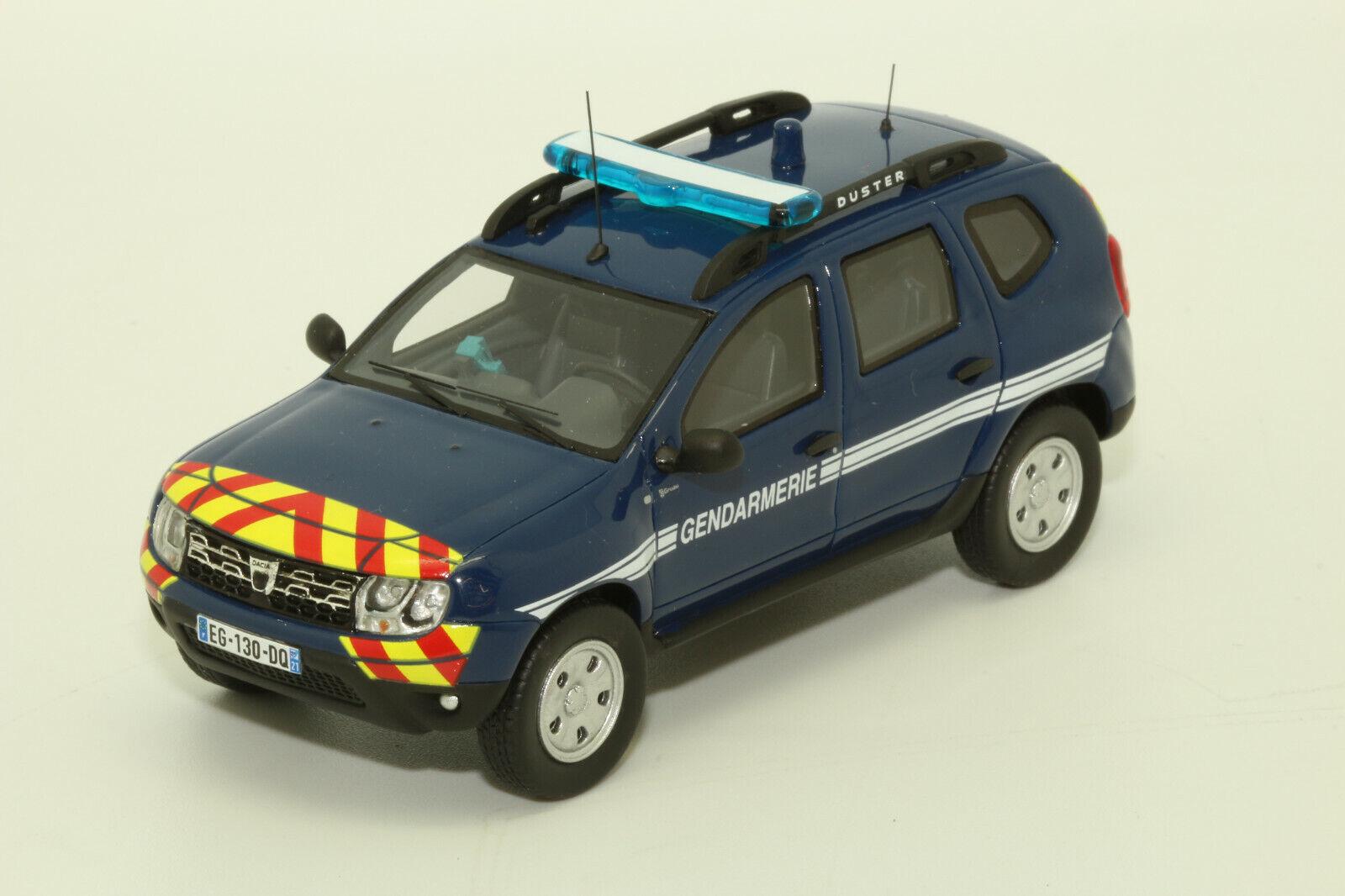 Dacia Duster Gendarmerie ALARME - ALA 0010 - Echelle 1 43 En Résine