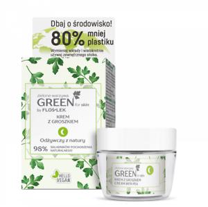 Flos-Lek Green For Skin odżywczy krem z groszkiem/ Nourishing cream with pea
