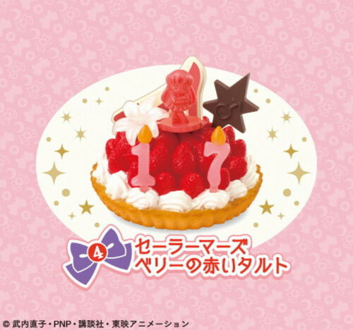 Re-Ment Miniature Sanrio Sailor Moon Crystal Birthday Cake rement Full set of 8