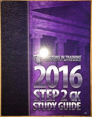 Doctors in training USMLE Step 2 CK DIT 2016 Brand New | eBay