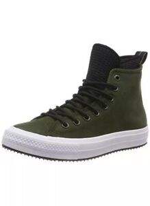 Dettagli su Converse CTAS WP Boot HI Utility GreenBlack Size US 10 Men 162408C New