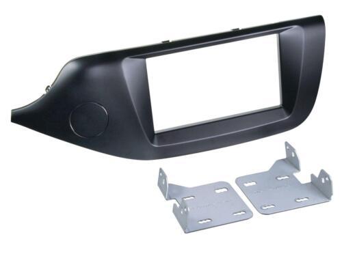 Enmarcar set doble DIN autoradio para kia ceed ab 2012