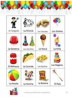 Loteria Para Fiestas De Cumpleaños 50 Tablas (para Imprimir En Casa Pdf)
