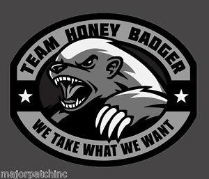 Team Honey Badger Logo