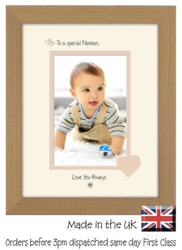 Nannan Photo Frame Portrait 6x4 Special Nannan 1114F