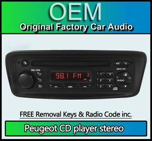 peugeot 206 radio unlock code free