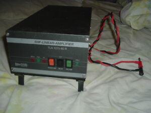 Details about SHF LINEAR 1 2GHZ MICROWAVE FM SSB TLA1275-80R W PREAMP HAM  Radio 23CM Amplifier