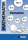 Mathematik-Übungen. Arbeitsheft Einmaleins. Euro-A von Peter Kohring, Barbara Stachuletz, Kerstin Tieste und Horst Erdmann (2001, Geheftet)
