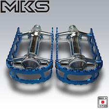OLD SCHOOL BMX MKS PEDALS 9/16 BLUE NEW BM-7