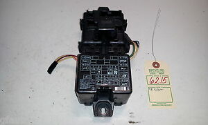 1998 mitsubishi montero sport under dash fuse box oem mr265391 image is loading 1998 mitsubishi montero sport under dash fuse box