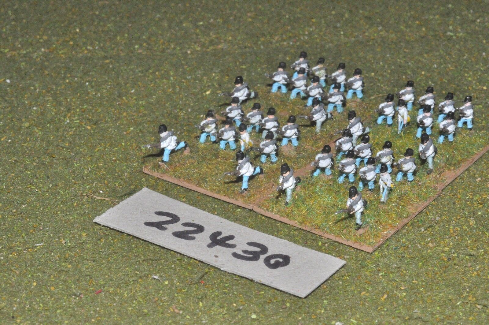 10mm 19th century   austrian - line 40 figs inf - inf (22430)