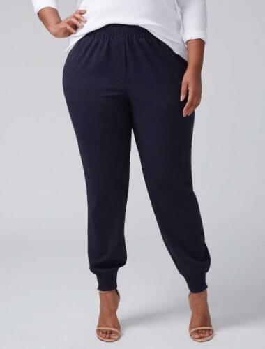 LANE BRYANT ~ NWT 22 24 26 28 ~ Boho TAILORED STRETCH Jogger Ankle Pants