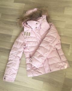 designer fashion 5ce60 2e92a Details zu Bogner Fire + Ice Damen Daunenjacke Winterjacke Rosa Gr. 36  Guter Zustand