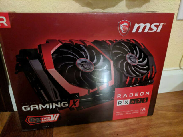 MSI Radeon RX 570 4gb for Gaming or Mining