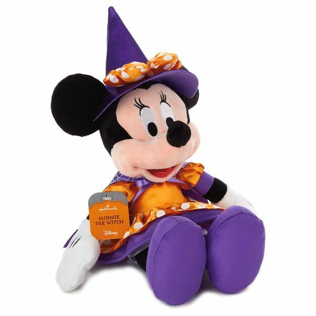 disney minnie mouse the witch hallmark halloween plush doll decoration mickey ebay