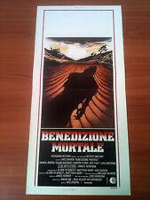 BENEDIZIONE MORTALE locandina poster Deadly Blessing Ernest Borgnine Horror T69