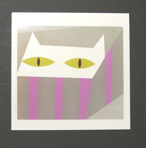 """Edie Harper Charley/'s Wife Notecards /""""Cat In A Hatbox/"""" 4 Pack w//Envelopes"""