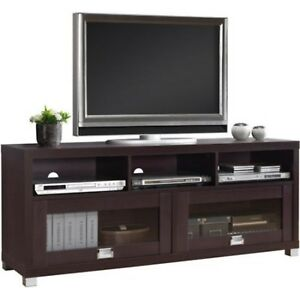 tv stand 65 inch flat screen home furniture entertainment media console center 609753584388 ebay. Black Bedroom Furniture Sets. Home Design Ideas