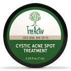 Treeactiv Cystic Acne Spot Treatment Best Extra Strength Fast Acting Formula FO