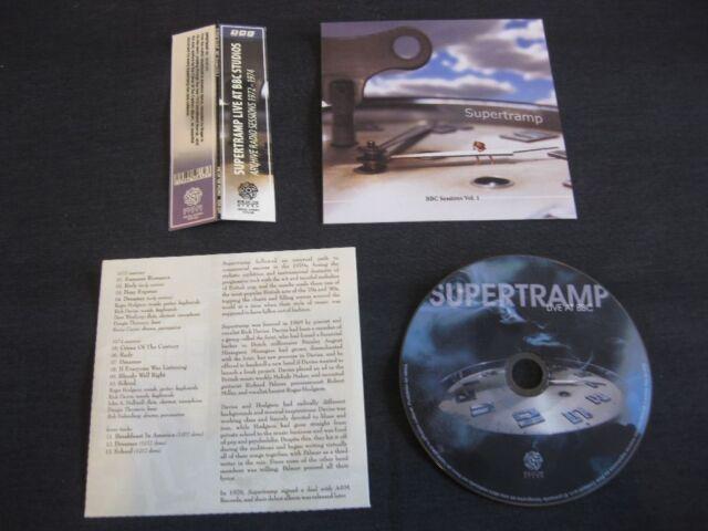 SUPERTRAMP, BBC Sessions Vol. 1 (1972-1974), CD Mini LP, EOS-329