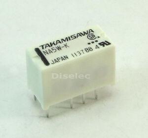 NA-5W-K-NA5W-K-RELE-RELAY-Takamisawa-5VDC-2A-DPDT-NA5WK
