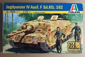 ITALERI-7028-JAGDPANZER-IV-Ausf-F-Sd-Kfz-162-1-72-PLASTIC-KIT