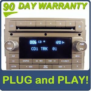 LINCOLN-OEM-Navigator-MKZ-MKX-Zephyr-Radio-6-Disc-Changer-CD-Player-AUX