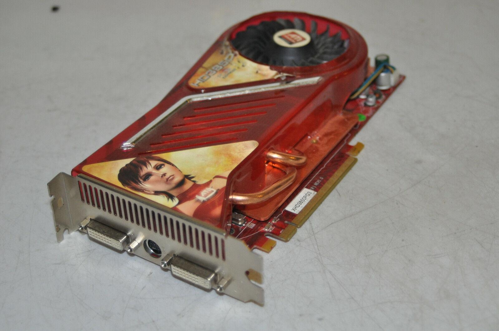 GECUBE RADEON HD 3850 512MB PCIe Graphics Card Computer PC Card XHD3850PG3