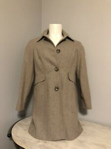 Euc London Fog Women S Small Beige Tan Coat S Ebay