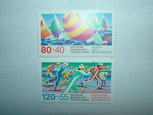 1987 WEST GERMANY SPORT PROMOTION FUND SET x 2 MNH sg21778 CV 535 - <span itemprop=availableAtOrFrom>Walton On Thames, Surrey, United Kingdom</span> - 1987 WEST GERMANY SPORT PROMOTION FUND SET x 2 MNH sg21778 CV 535 - Walton On Thames, Surrey, United Kingdom