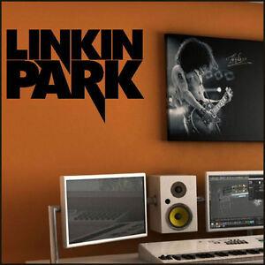 LARGE-LINKIN-PARK-BAND-LOGO-WALL-ART-MURAL-STICKER-TRANSFER-STENCIL-DECAL